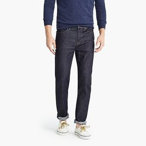 JCrew Straight Fit jeans resin rinse 35/32 J8710
